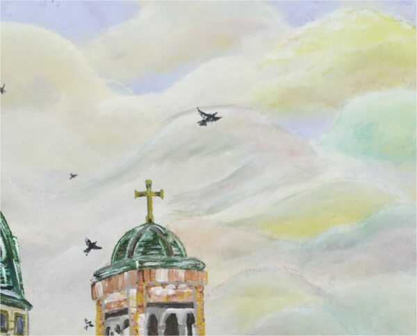 End of the Green - College of Crows - Close-Up 2