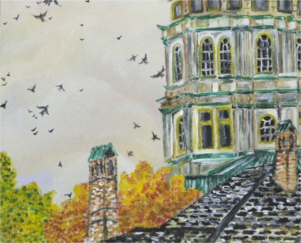 End of the Green - College of Crows - Close-Up 3