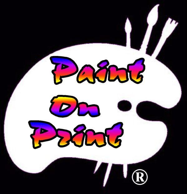 Paint On Print
